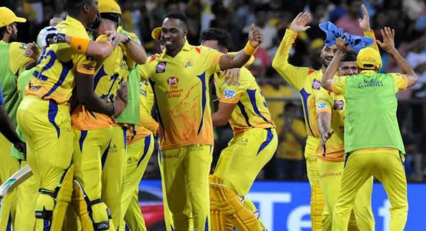 Du Plessis powers Chennai into seventh IPL final