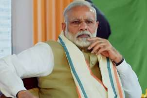 Opposition leaders coming together to save themselves, says Modi