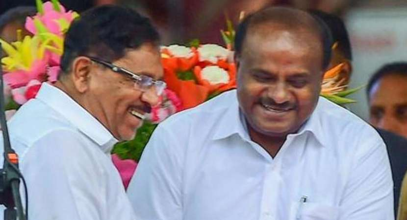 The HD Kumaraswamy ministry which was formed just 15 days before got expansion with inclusion of 25 ministers