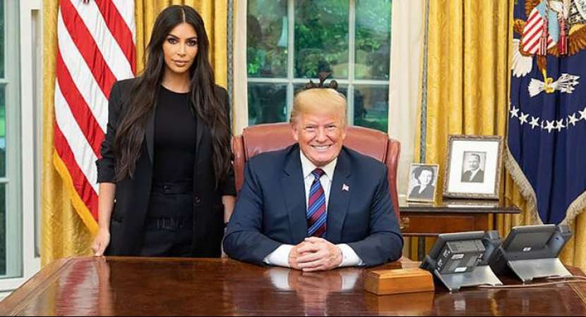Kim Kardashian met with Donald Trump last week to discuss prison reform and sentencing.