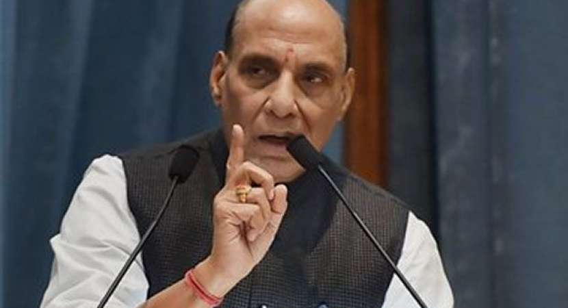 14,500 safety bunkers coming up in J&K border areas, says Rajnath Singh