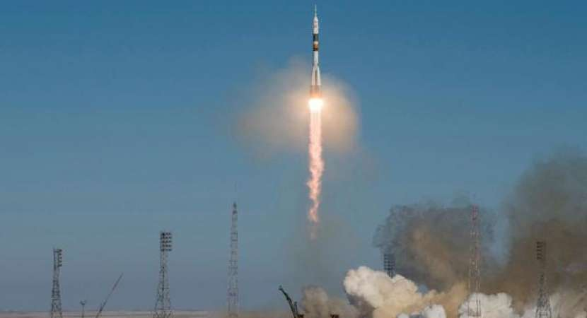 Soyuz MS-09 ship carrying three astronauts reaches worldwide space station