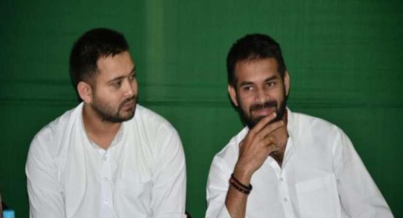 RJD's Tejashwi Yadav denies rift with elder brother Tej Pratap