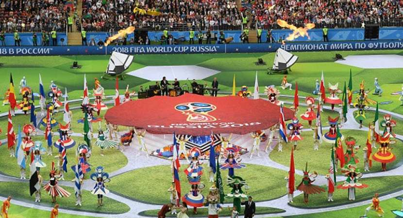FIFA World Cup starts with colourful ceremony