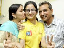 Girl from Punjab's backward area tops AIIMS entrance