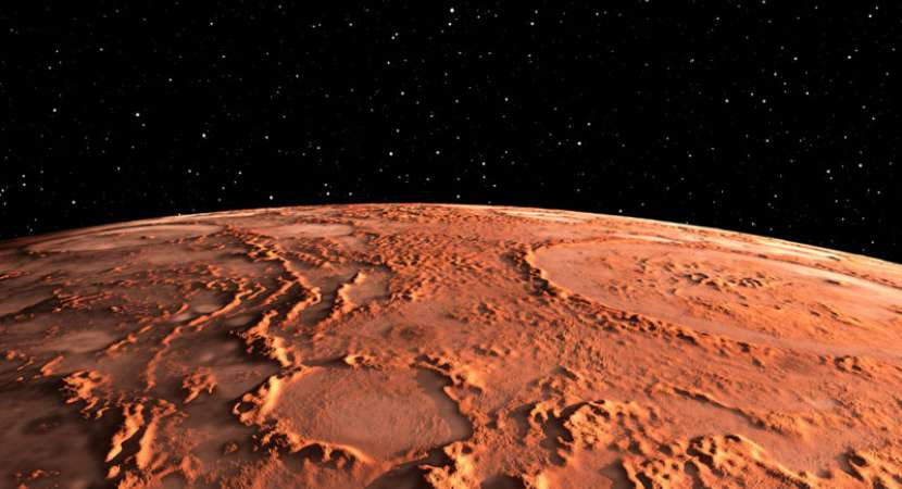 Explosive volcanoes may explain mysterious rock formation on Mars