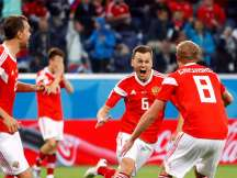 FIFA World Cup 2018: Russia beat Egypt to lead group