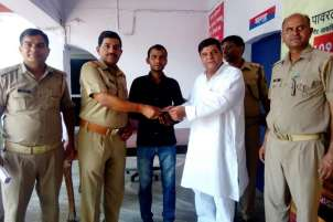 Manoj Kumar Saini was rewarded Rs 1,000 for his act of bravery