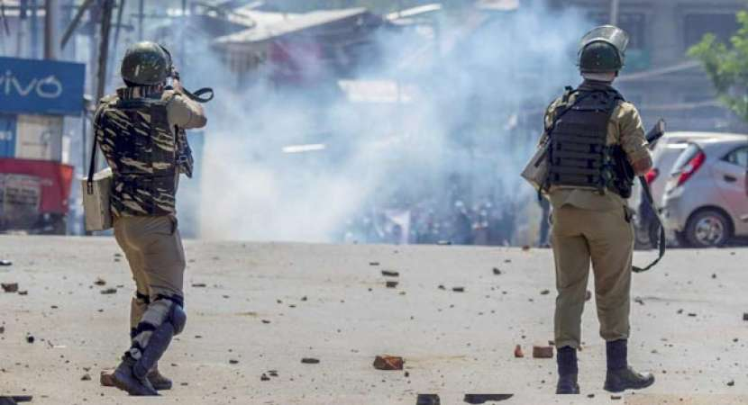Security forces fired at stone-throwing protesters (representational image)