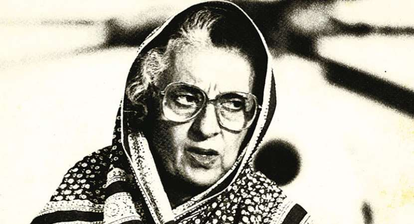 The role of Cold War in Indira Gandhi's Emergency