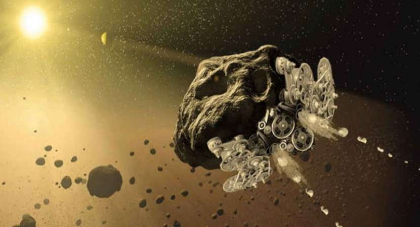 NASA funding project to turn asteroids into spaceships: Report