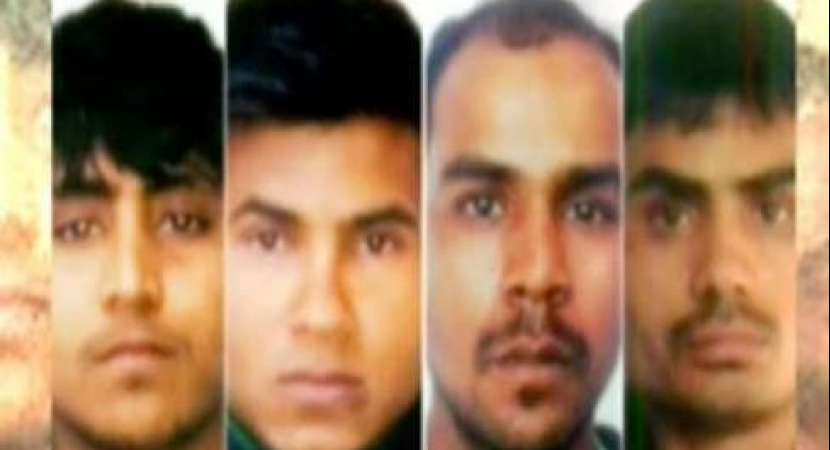 Four convicts of 2012 Nirbhaya gangrape in Delhi