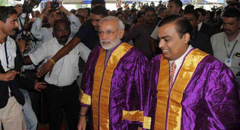Yet to be established JIO Institute chosen for 'Institute of Eminence'