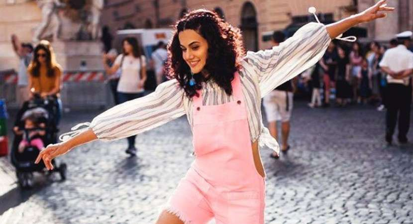 Taapsee Pannu debuts as choreographer for 'Mulk'