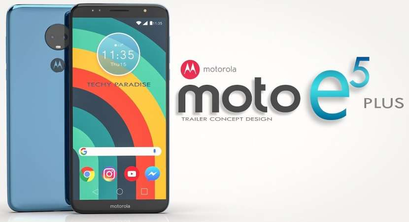 Moto E5 Plus launch event will be held today in New Delhi at 2:30 pm IST