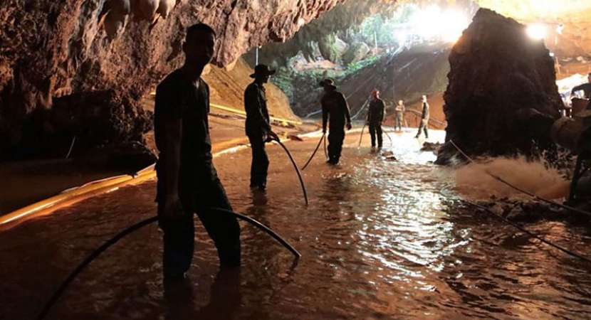 Thailand Cave case: Operation resumes to free remaining 5