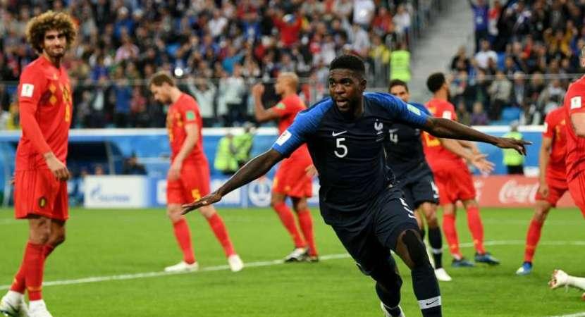FIFA World Cup: Samuel Umtiti header takes France into final as Belgium fall short