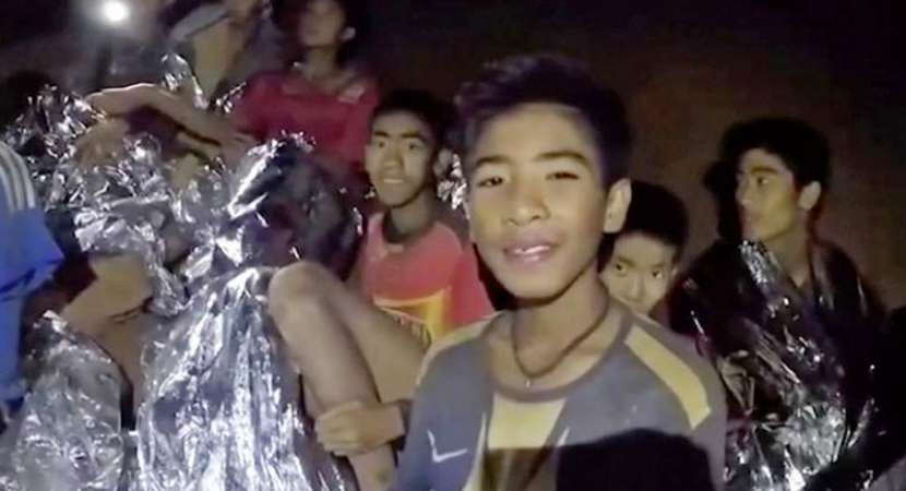 Football team rescued from Thai cave lost 2 kg weight: Medics