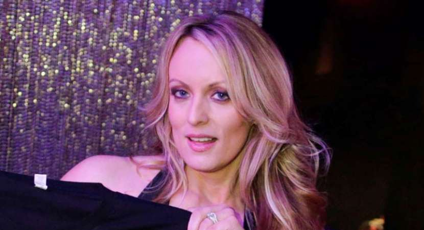 Stormy Daniels arrested at a strip club on stage