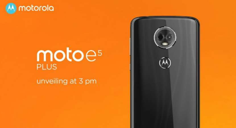 Moto E5 Plus comes with a massive 5,000mAh battery that gives users the power to enjoy up to 18 hours of video playback