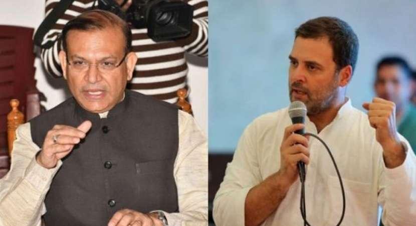 Jayant Sinha dares Rahul for debate on Ramgarh lynching case