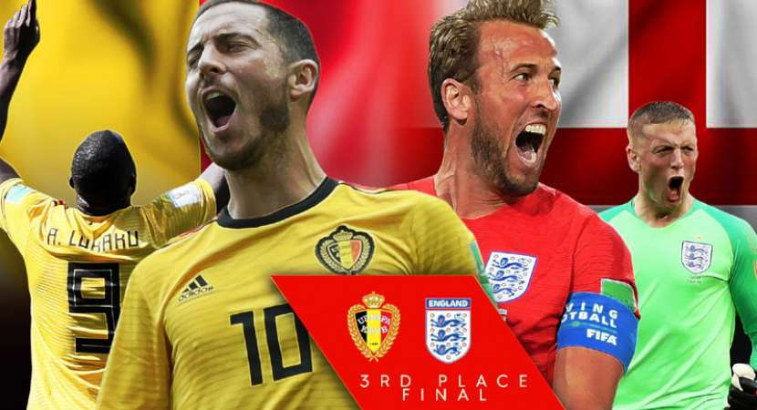 FIFA World Cup 2018: England, Belgium to fight for third place