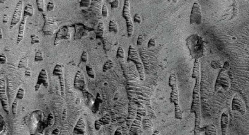Scientists now feel that the ancient formations on Mars may lead to life of microbes