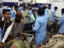 Over 128 killed in Pakistan suicide bombing, IS stakes claim