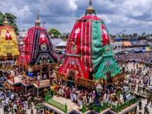 The Jagannatha Temples dotted in different parts of the country is celebrating its 141st Ratha Yatra.