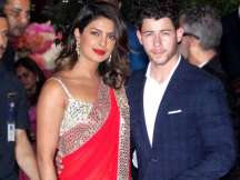 Priyanka and Nick Jonas in Ambani party