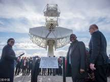 South Africa has launched a 64-dish largest radio telescope in Carnarvon in the Northern Cape