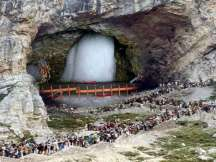 Jammu and Kashmir: 2,201 pilgrims leave for Amarnath Yatra