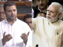 Lok Sabha to take up no-trust motion today; PM Narendra Modi, Rahul Gandhi to speak