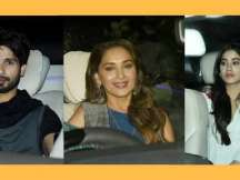 Shahid, Madhuri, Rekha attend 'Dhadak' special screening
