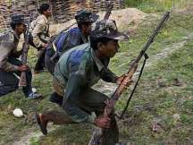 7 naxals, including 3 women gunned down in an encounter with security forces in Chhattisgarh.