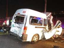 12 Die in road accident in central Mexico