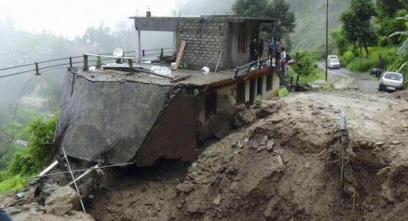 Cloudburst in Chamoli, heavy rains pour in