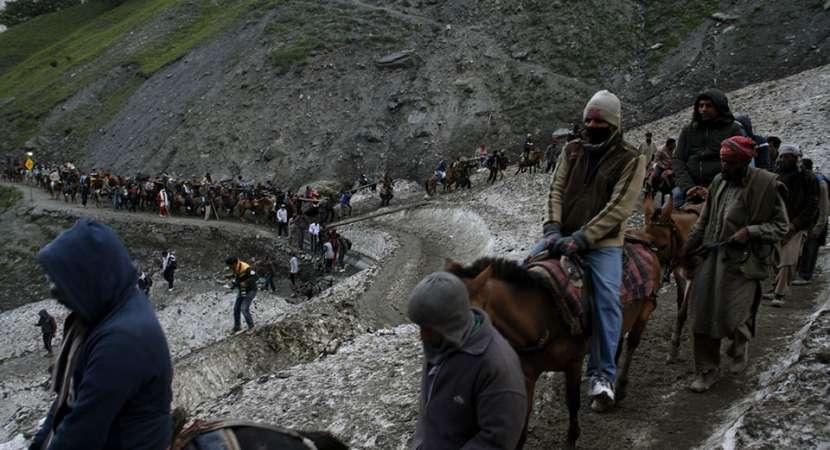 Separatist-called shutdown temporarily suspends Amarnath Yatra