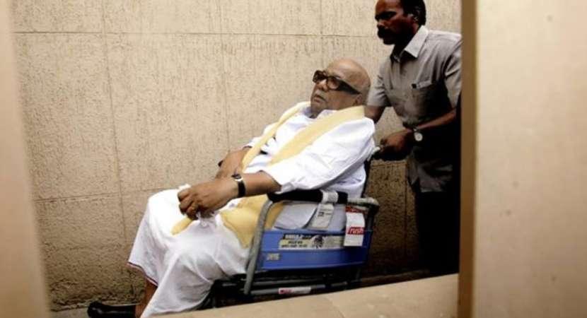 Karunanidhi's health deteriorates