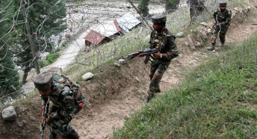 Indian Army Major, 3 soldier martyred in Kashmir border fight