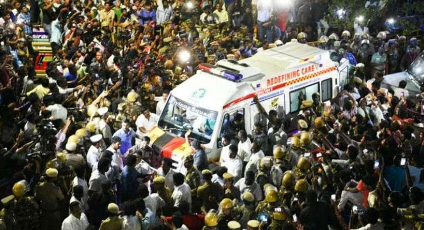 Karunanidhi's mortal remains to be taken to Gopalapuram