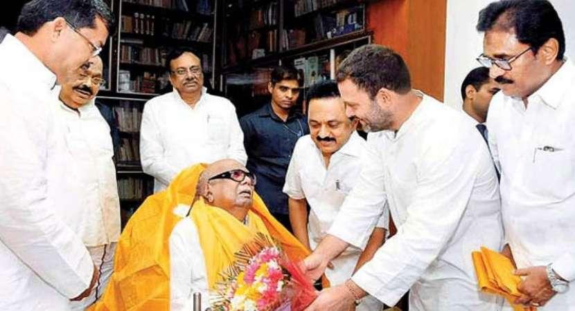 Tamil political leaders condole death of Karunanidhi
