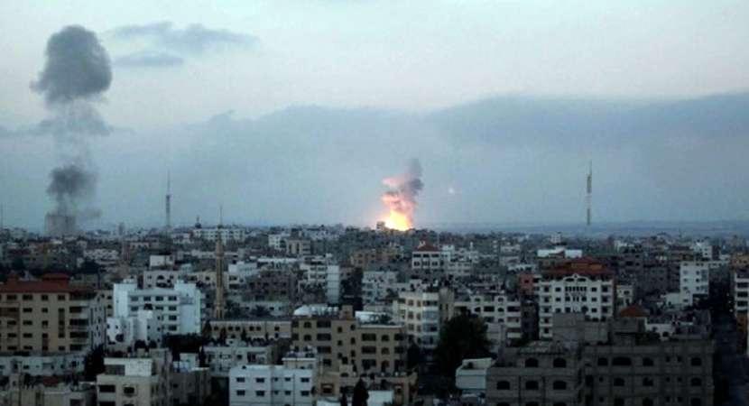 Israel strikes 12 sites across Gaza