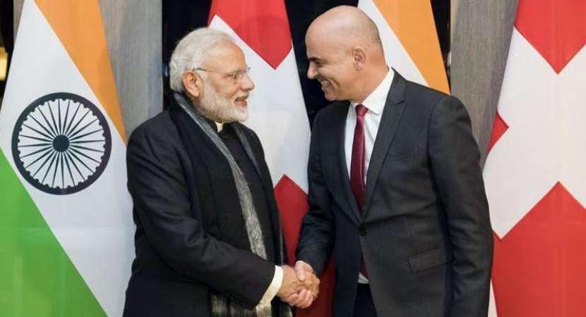 India, Switzerland discuss bilateral ties, black money