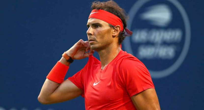 Rafael Nadal eliminates Wawrinka at Toronto Masters