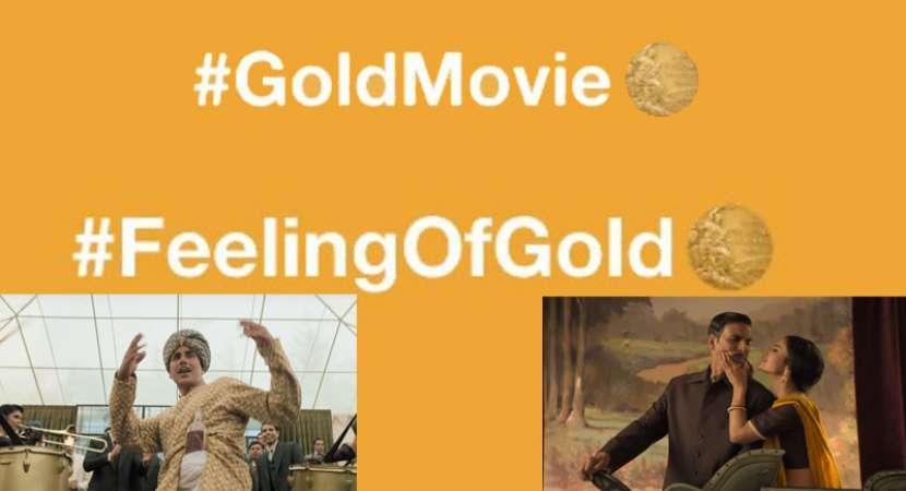 Akshay Kumar's 'Gold' gets a Twitter emoji