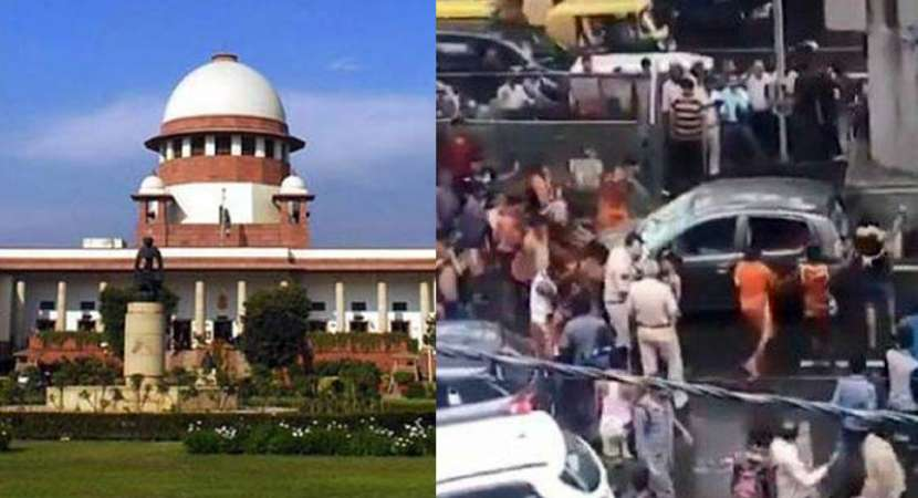 SC expresses concern over vandalism by Kanwarias, protest groups