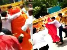 Atal Bihari Vajpayee funeral: Swami Agnivesh attacked at BJP office