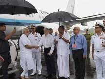 Kerala floods: PM Narendra Modi's aerial survey called off due to bad weather