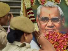 Atal Bihari Vajpayee's remains to be immersed in Rajasthan